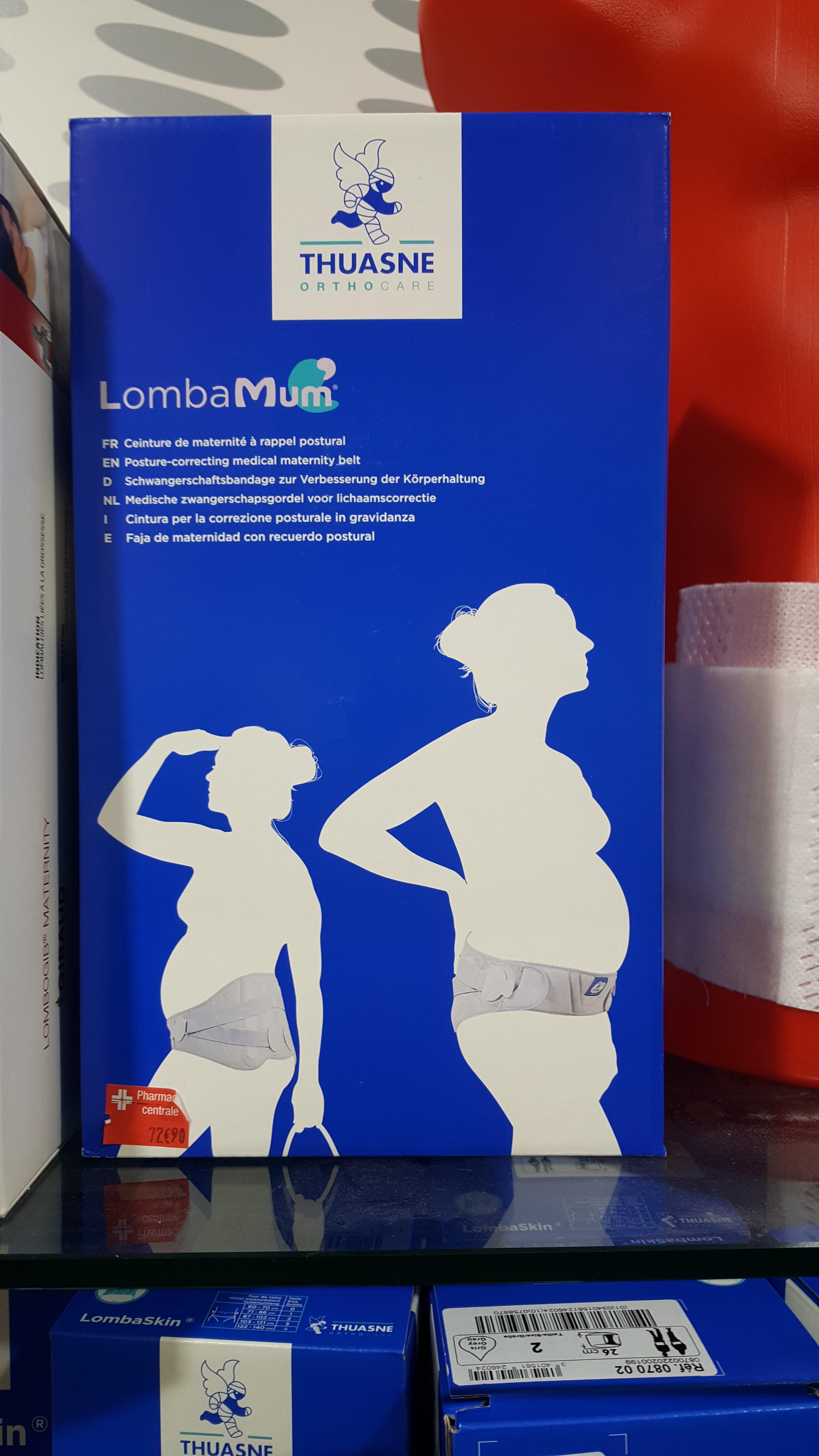 ceinture maternité lombaMum Thuasne