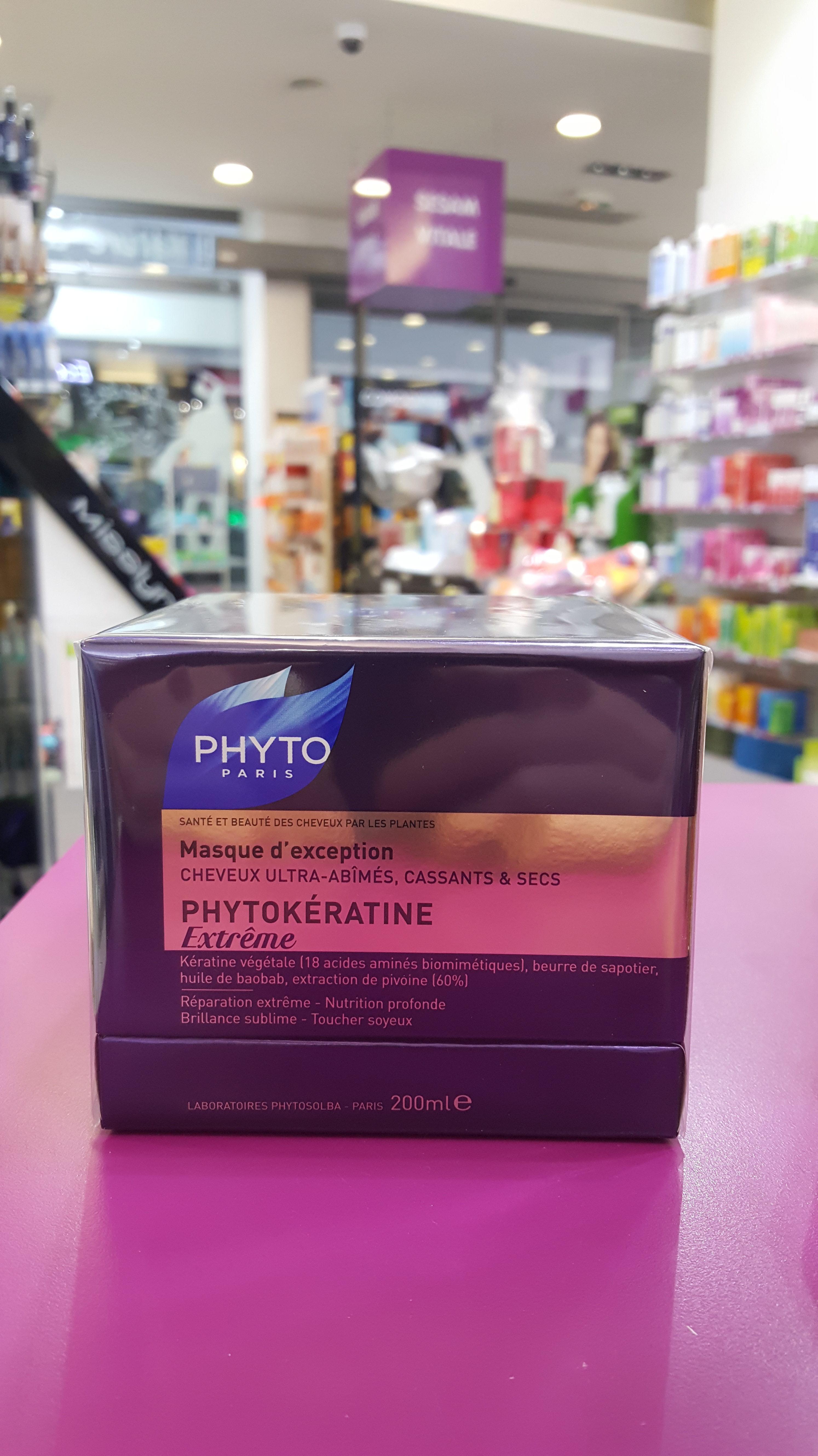 PhytokératinePhyto cheveux