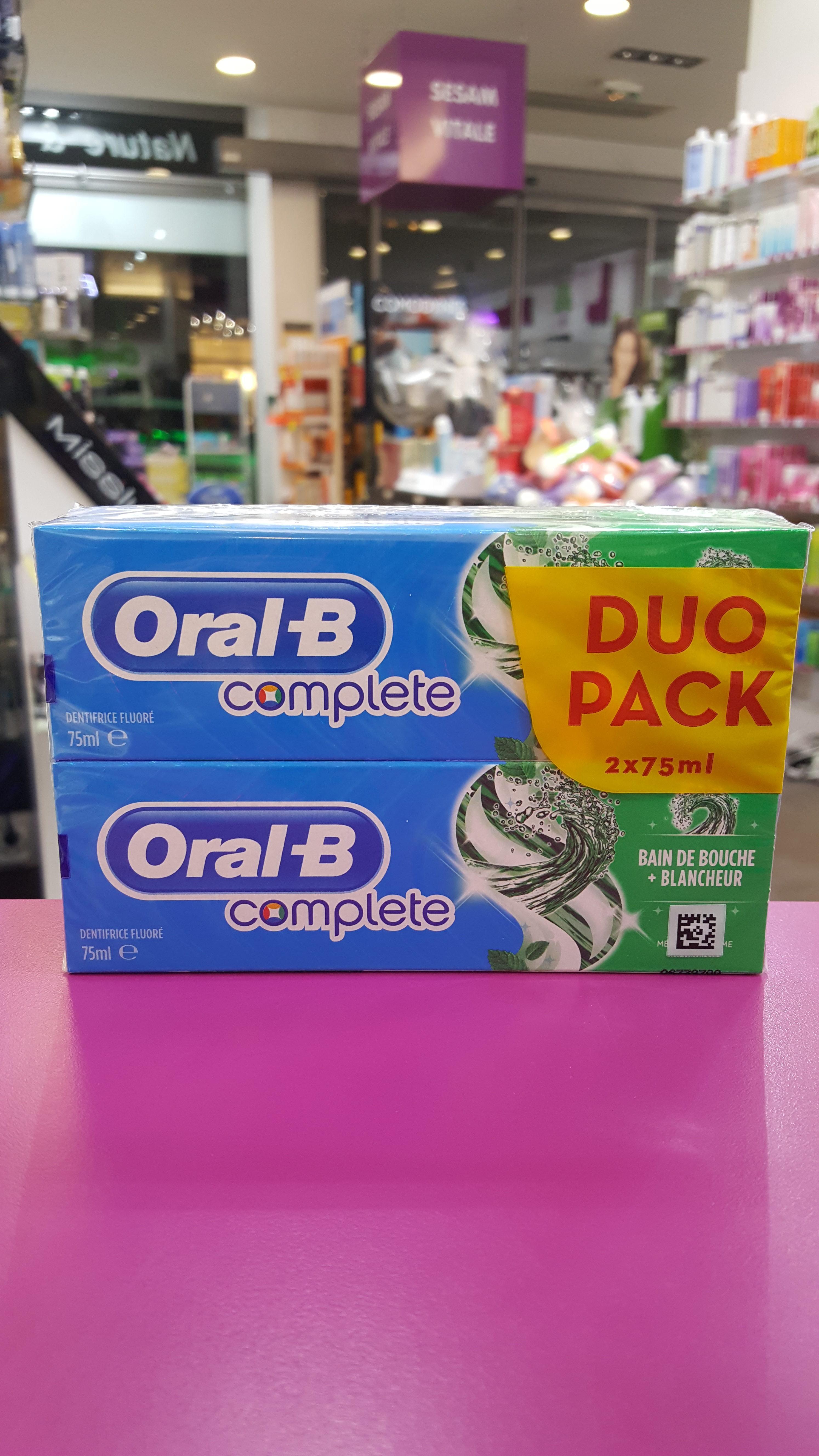 dentifrice Oral-B complete