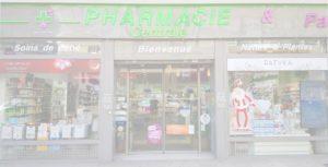 devanture pharmacie Courbevoie