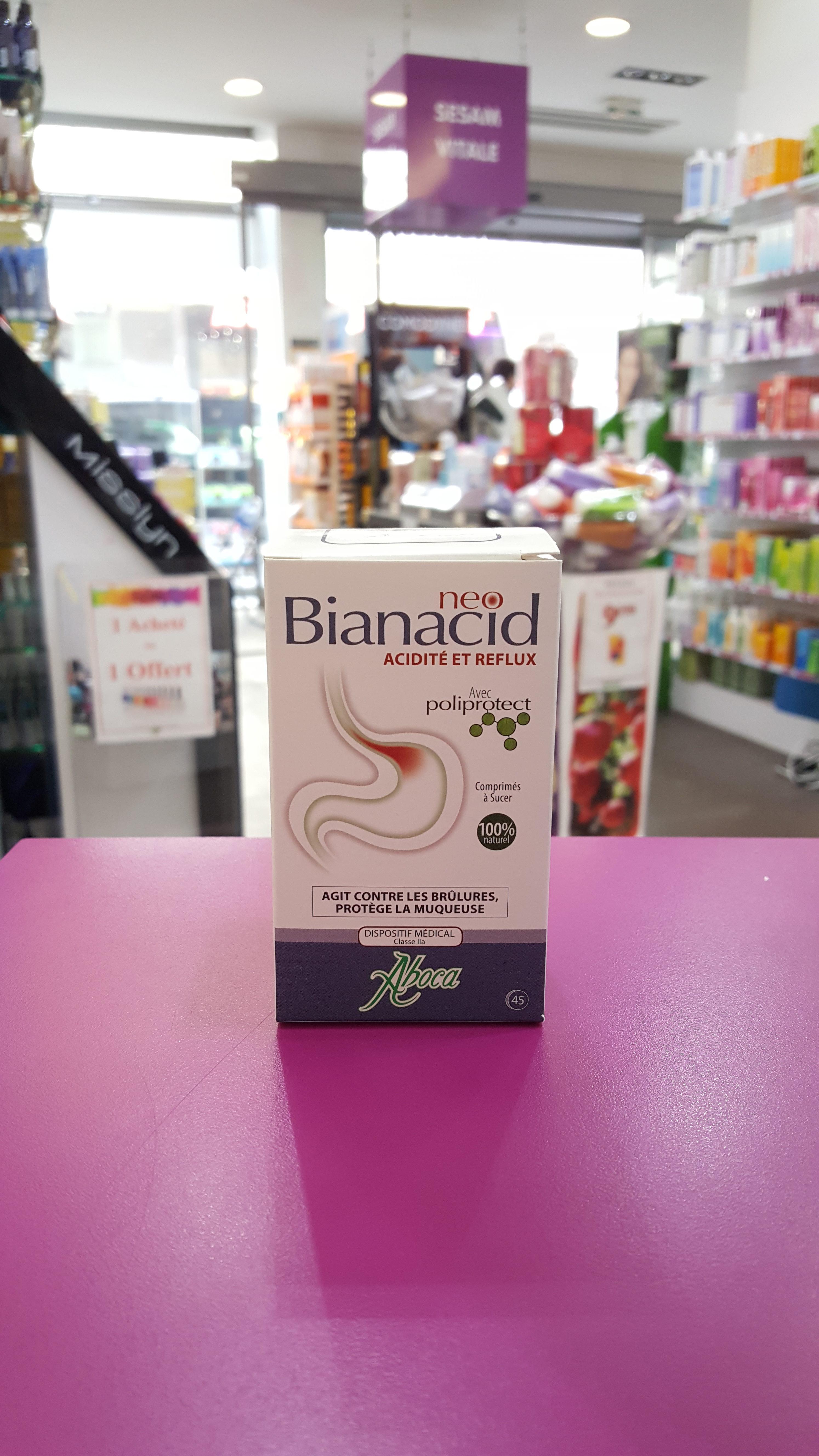 Neo Bionacid acidité et reflux